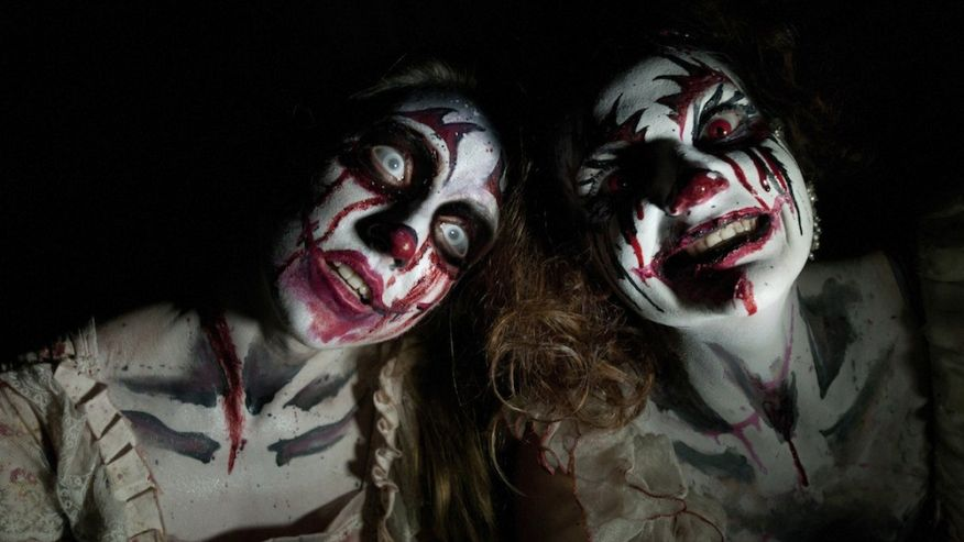clowns, haunted houses, scary, background check, background screening,