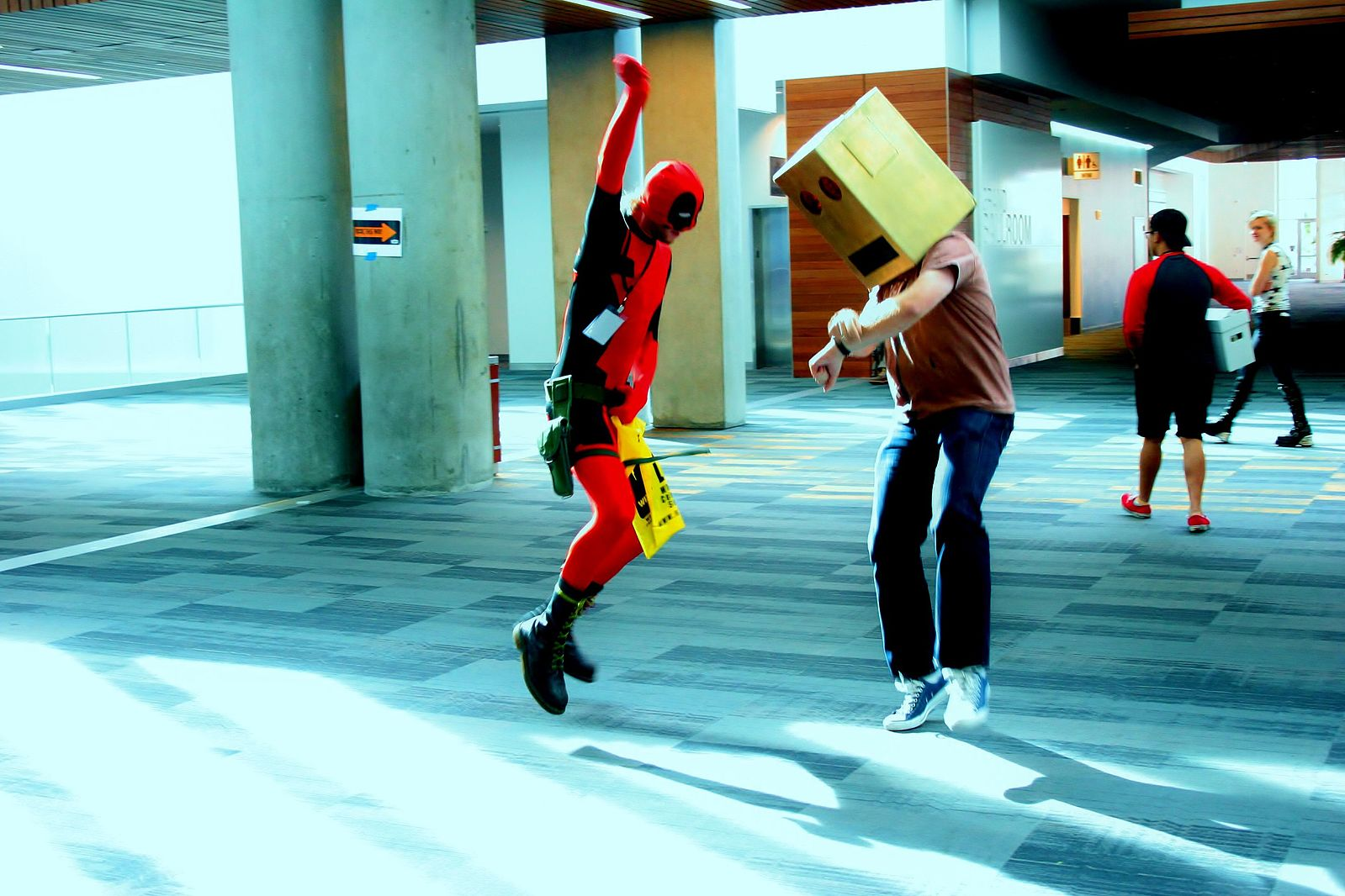 dance battle, dance off, dance party, deadpool, holiday