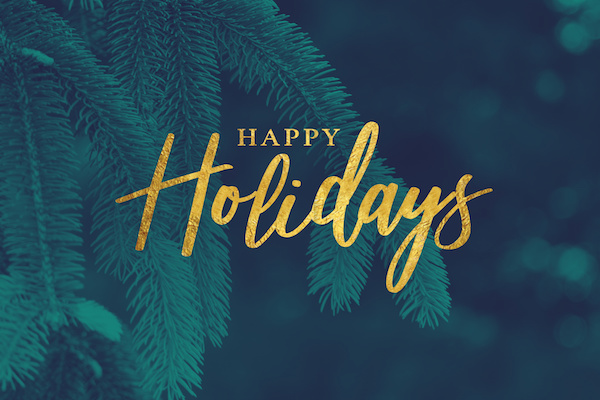 Happy Holidays! From Total Reporting - a comprehensive employment background check and drug testing company. Holiday Hours included here.
